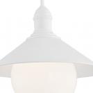 Lampa wisząca ogrodowa 1X60W E27 ERBA BIS 3285 Czarny ARGON