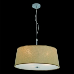 Lampa wisząca śr:50cm COMBO 3X60W E27 Beżowa 18030