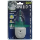 Lampa do gniazdka MINI LIGHT 1X0,3W LED Niebieski 1611