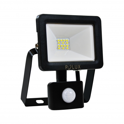 Naświetlacz LED z czujnikiem ruchu 10W 100W zimna barwa światła,  304780 IP65 POLUX