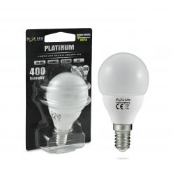 Żarówka POLUX LED 5,5W 35W gwint E14 400lm ciepła/żółta barwa światła POLUX/SANICO