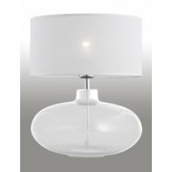 Lampa nocna 1X60W E27 SEKWANA Biały/Przezroczysty 3051 ARGON