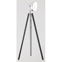 Lampa podłogowa 12W LED FOTO NEW 3355 czarny/chrom Argon