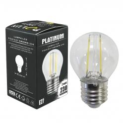 Żarówka dekoracyjna LED gwint E27 2,5W  230 lumenów POLUX/SANICO