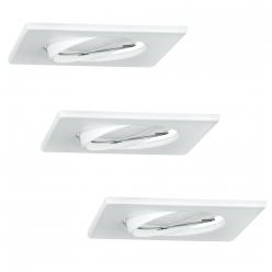Zestaw 3 oczek OLIN 3x3,5W LED 305862 Biały POLUX/SANICO - wysyłka 24h (na stanie 5 zestawów)