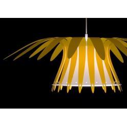 Lampa wiszaca SOL 1X75W E27 Żótła lub Czerwona, wykonana ręcznie