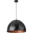Lampa wisząca 1x60W E27 DIAMENT L biały/złoty 31369 SIGMA
