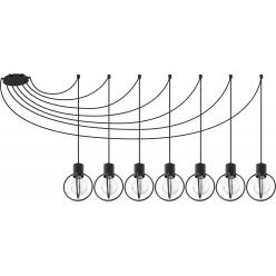 Aura koło 7 czarny mat  podwieszana 31087 SIGMA