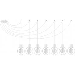 Aura koło 7 biały mat podwieszana 31098 SIGMA