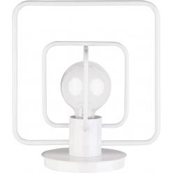Aura kwadrat Lampka biały połysk 50083 SIGMA