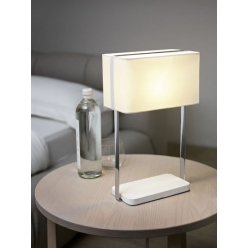 Lampa stołowa JAMELA 1X60W E27 Biała 92069 EGLO -wysyłka 24h (na stanie 1 sztuka)