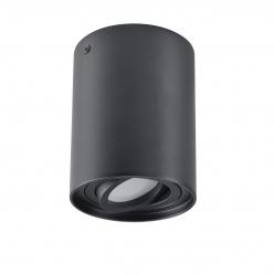 Oferta tygodnia - Lampa natynkowa HADAR 1X10W GU10 czarna 313102 POLUX/SANICO