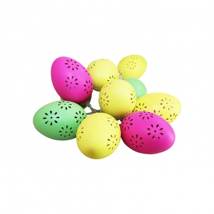 Plastikowe Jajka Wielkanocne Led Ze Wzorem Oprawy Na Baterie Luke Home Design