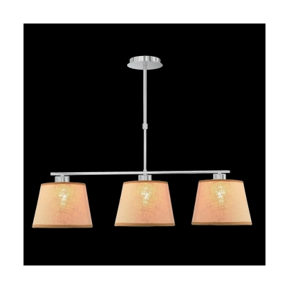 Lampa wisząca śr:40cm COMBO 2X60W E27 Beżowa 18064