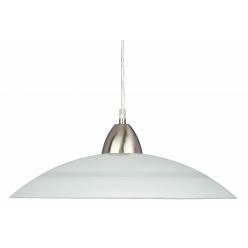 Lampa wisząca PLATE 1X60W E27 Mleczny 25 PREZENT