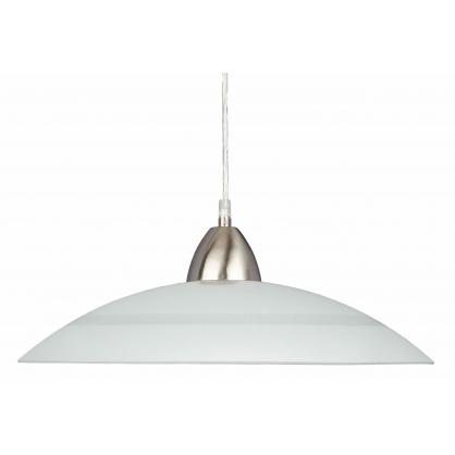 Lampa wisząca PLATE 1X60W E27 Mleczny 24 PREZENT