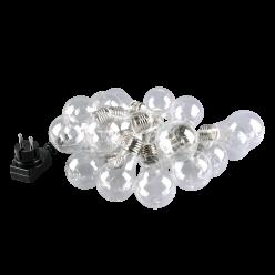 Girlanda SMOLDER 20 LED  5,3metra z zasilaczem IP20 313263 POLUX/SANICO