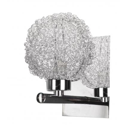 LAMPA ŚCIENNA KINKIET CANDELLUX WIND 21-14078  G9 CHROM