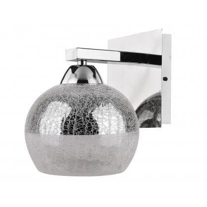 LAMPA ŚCIENNA KINKIET CANDELLUX CROMINA 21-22240  E27 CHROM