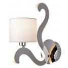 LAMPA ŚCIENNA KINKIET CANDELLUX AMBROSIA 21-33864  E14 +  LED CHROM