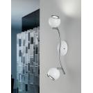 Kinkiet LED (Ciepła barwa światła) BIMEDA 1X3W GU10 31001 EGLO