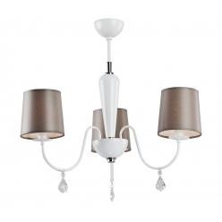 Lampa wisząca 3X60W E27 VALENCJA Brązowy 1146 Argon