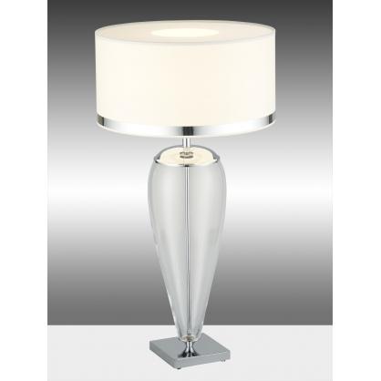 Lampa nocna 1X60W E27 LORENA czarny/chrom 355 Argon