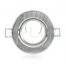 Oczko halogenowe EAST OPAL GU10 50W 301550 Srebrny szczotkowany POLUX - wysyłka 24h (na stanie 47 sztuk)