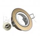 Oczko halogenowe EAST OPAL GU10 50W 301574 Złoty szczotkowany POLUX - wysyłka 24h (na stanie 45 sztuk)
