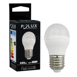 Żarówka POLUX LED SMD 5,5W 40W gwint E27 480lm ciepła/żółta barwa światła- wysyłka 24h (na stanie 6 sztuk)