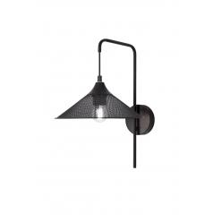 Kinkiet Kiruna LEDEA 50401207 E27 40W Metal Czarny