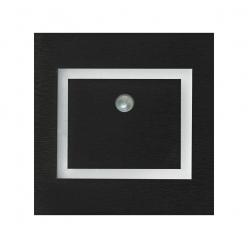 EVRA BLACK Barwa Ciepła 3000K. PIR. 12V