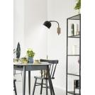 Kinkiet czarny lampa ścienna 40W E27 regulowany Rupi Candellux 21-76687