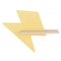 Kinkiet LED 5W dla dziecka żółta błyskawica Lightning Candellux 21-75604
