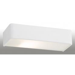 Kinkiet szer:40cm 2X60W E27 RODAN Biały 656 ARGON