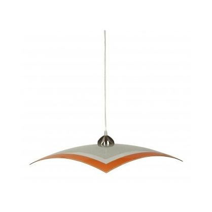 Lampa wisząca ARCADA 1X60W E27 Pomarańczowy 1341 PREZENT