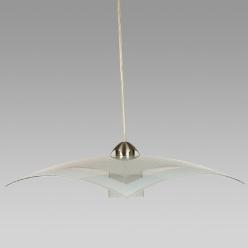 Lampa wisząca ARCADA 1X60W E27 Przezroczysty/Biały 1375 PREZENT