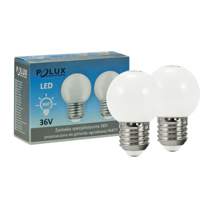 Żarówka dekoracyjna LED gwint E27 4,5W 308856 POLUX/SANICO