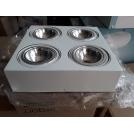 Plafon 30x30cm 4X48W G9 RODOS Biały 1540 Argon -wysyłka 24h (na stanie 2 sztuki) +RABAT 18% (po dodaniu kodu 7VKUKCRQ w koszyku)
