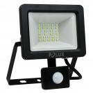 Naświetlacz LED z czujnikiem ruchu 20W 200W zimna barwa światła 304797 IP65 POLUX