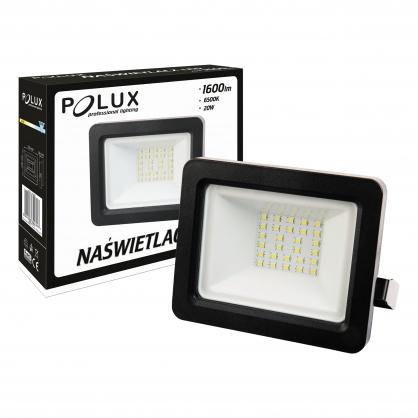 Naświetlacz LED 20W 200W zimna barwa światła, LPP20CWGB SMD IP65 POLUX