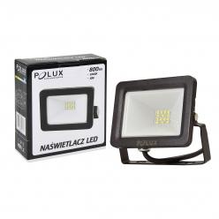 Naświetlacz LED 10W 100W zimna barwa światła, LPP10CWGB SMD IP65 POLUX- wysyłka 24h (na stanie 1 sztuka)
