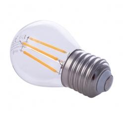 Żarówka Filamentowa LED 4W G45 E27 2700K