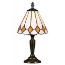 Lampa stołowa witrażowa TIFFANY 1X40W E14 91 PREZENT