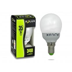 Żarówka LED 7W 35W gwint E14 340lm ciepła-żółta barwa światła SE4783 POLUX/SANICO