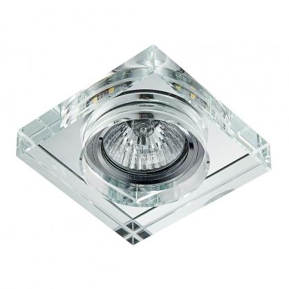 Oczko wpuszczane 1X50W GU10 +1x3W LED 71104 EMITHOR