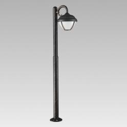 Słupek ogrodowy 100cm NEBRASKA 1X7W LED Patyna 39019 PREZENT IP44