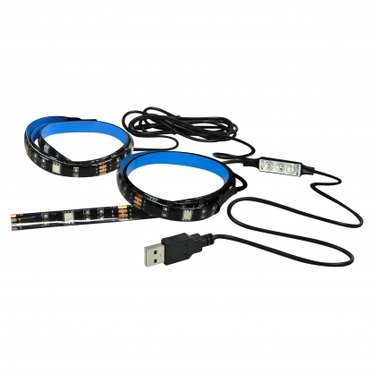 Zestaw LED RGB 5m, IP20, 24W POLUX/SANICO