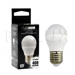 Żarówka POLUX LED 4,9W 35W gwint E27 400lm ciepła/żółta barwa światła POLUX/SANICO- wysyłka 24h (na stanie 12 sztuk)