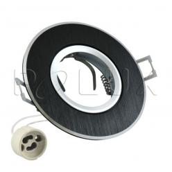 Oczko halogenowe WEST OPAL GU10 50W 302069 Czarny szczotkowany POLUX- wysyłka 24h (na stanie 100 sztuk)